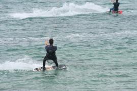 Fotos kitesurf balneario Tarifa